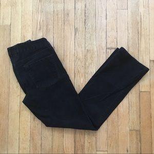 Black JCrew Favorite Fit Cords